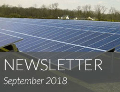 Newsletter – September 2018