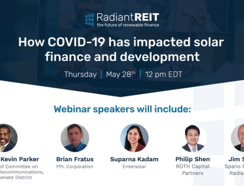How COVID-19 has impacted solar finance and development